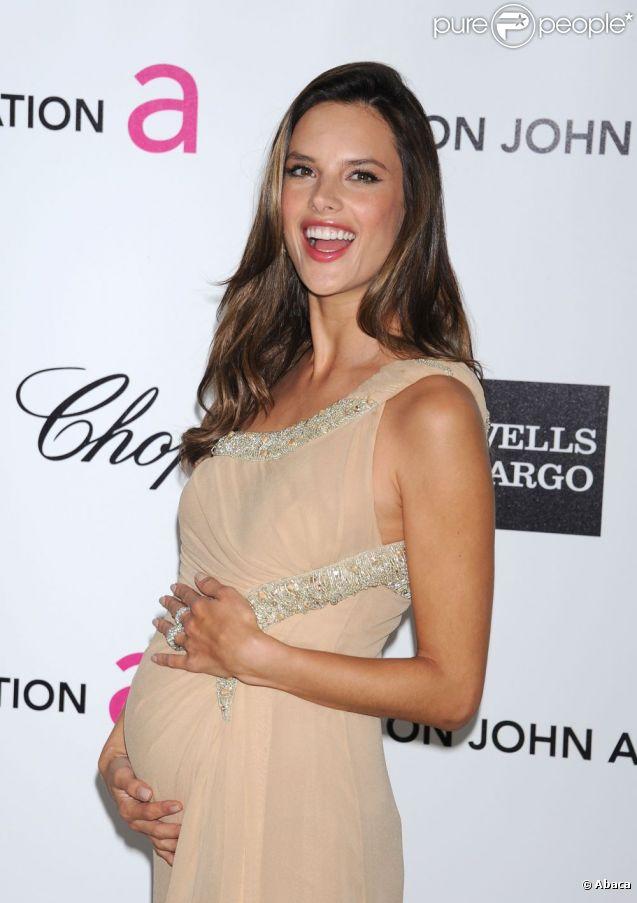 Alessandra Ambrosio enceinte de son deuxième enfant : c'est un garçon !