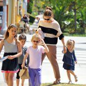 Jennifer Garner : Promenade en famille avant de se métamorphoser en homme