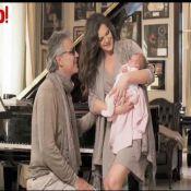 Andrea Bocelli présente sa petite fille Virginia pour la première fois