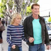 David Hasselhoff : Escapade shopping avec sa chérie Hayley Roberts
