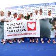 Les Kilomètres du Coeur, en plein Marathon de Paris le 15 avril 2012