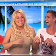 Loana et Benoît sur le plateau des Anges de la télé-réalité - Le Mag le mercredi 18 avril 2012 sur NRJ 12