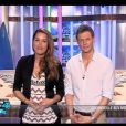 Jeny Priez et Matthieu Delormeau sur le plateau des Anges de la télé-réalité - Le Mag le mercredi 18 avril 2012 sur NRJ 12