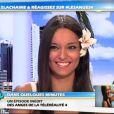 Laura Coll sur le plateau des Anges de la télé-réalité - Le Mag le mercredi 18 avril 2012 sur NRJ 12