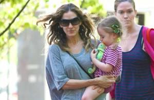Sarah Jessica Parker : maman relax avec ses jumelles et son fils