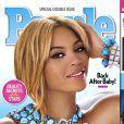 Couverture du magazine People avec Beyoncé Knowles en couverture. La star a été élue plus belle femme du monde 2012