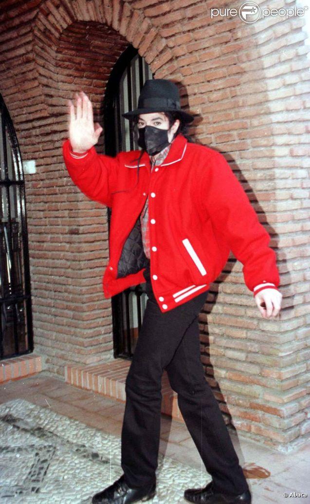 Michael Jackson à Marbella, le 28 mars 1997.