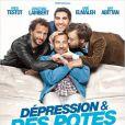 L'affiche du film Dépression et des potes
