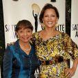 Vanessa Williams était accompagnée de sa mère Helen lors des Satellite Awards for Outstanding Achievement 2012. West Hollywood, le 2 mai 2012.