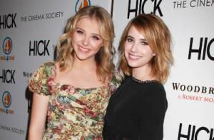 Chloë Moretz et Emma Roberts : Jeunes filles en fleurs ravissantes et complices