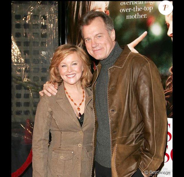 Stephen Collins et son épouse Faye Grant en janvier 2007 à Los Angeles