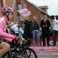 Le prince Frederik de Danemark à Herning pour le départ de la deuxième étape du Giro 2012, le 6 mai.