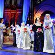 Showcase de la comédie musicale Sister Act à l'église américaine de Paris, le 9 mai 2012.