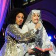 Kania au showcase de la comédie musicale  Sister Act  à l'église américaine de Paris, le 9 mai 2012.