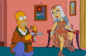 Lady Gaga chez Les Simpson : Premières images d'un épisode déjà culte !