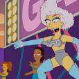 Lady Gaga dans un épisode qui lui est consacré des  Simpson,  intitulé  Lisa goes Gaga,  diffusion le 20 mai 2012 sur la Fox.