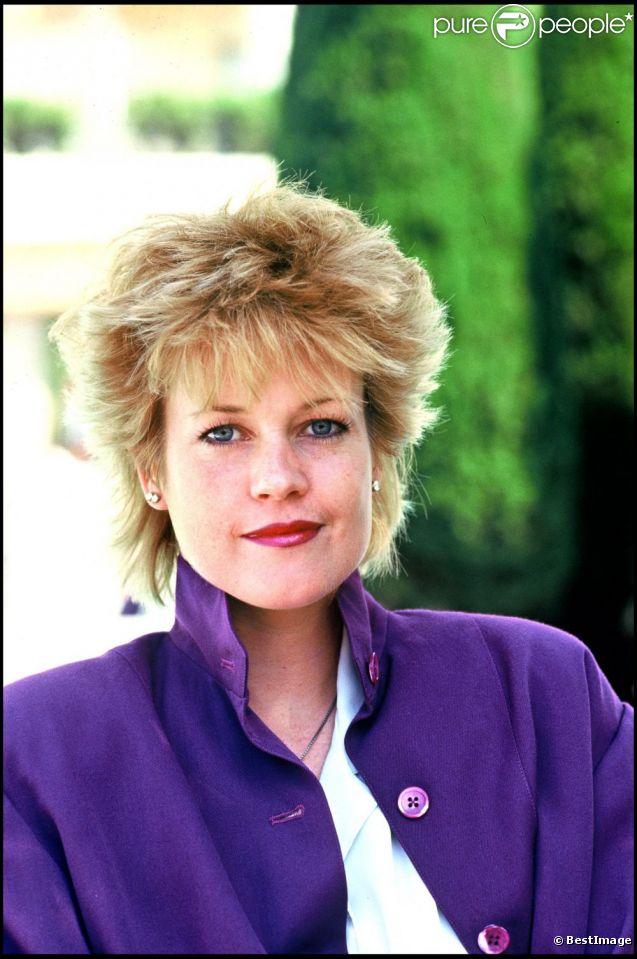 Melanie Griffith en mai 1987, au début de sa gloire. Joufflue mais naturelle, l'actrice séduisait par sa simplicité.