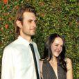 Galen Pehrson et Jena Malone lors du vernissage de l'exposition Rebel à Los Angeles le 12 mai 2012