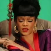 Rihanna : Samouraï et geisha pour Coldplay, elle se transforme en Cléopâtre sexy