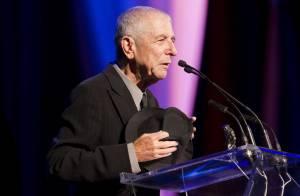 Leonard Cohen, 77 ans : Un prix prestigieux, un don d'une grande classe