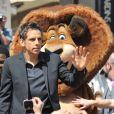 Ben Stiller lors du photocall de  Madagascar 3 : Bons baisers d'Europe , au Festival de Cannes le 17 mai 2012.