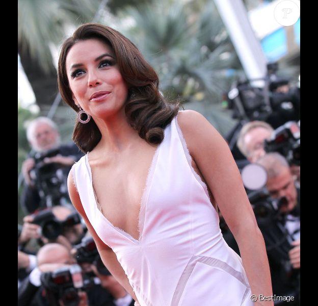 Eva Longoria durant le festival de Cannes 2012