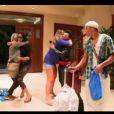 Bruno, Mohamed et Nabilla rentrent à la villa dans Les Anges de la télé-réalité 4 le vendredi 18 mai 2012 sur NRJ 12
