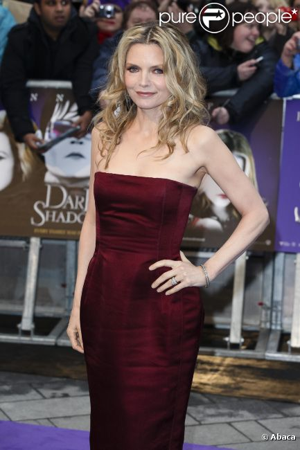 Michelle Pfeiffer en mai 2012 à Londres.