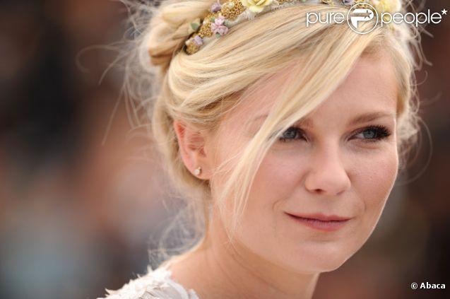 Kirsten Dunst à Cannes le 23 mai 2012.