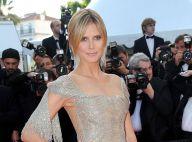 Cannes 2012 : Heidi Klum, épanouie, dévoile ses courbes glamour