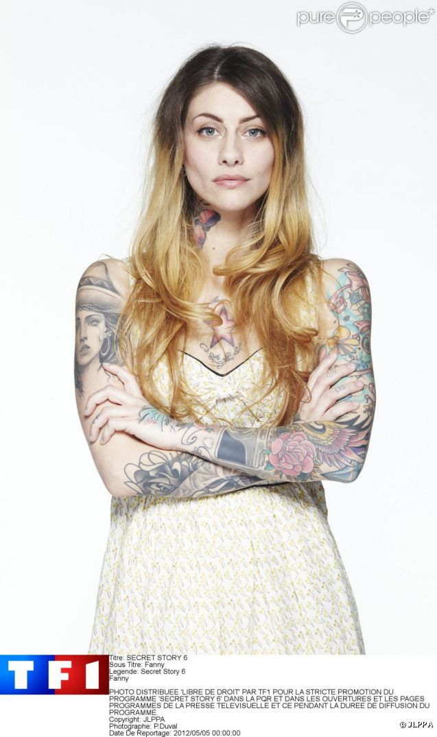 "Fanny de Secret Story 6 : ""J'ai plus de 100 tatouages"""