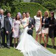 Entourés de leur famille, le comte Charles Alexandre de Faber-Castell, héritier de la maison d'articles de bureau et d'art Faber-Castell, et sa compagne Melissa Eliyesil ont célébré leur mariage le 26 mai 2012 à Stein, en Bavière, fief de la famille aristocratique.