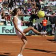 Amélie Mauresmo lors de la journée des enfants à Roland Garros le 26 mai 2012 à Paris