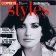 Penélope Cruz en couverture de L'Express Styles du 30 mai 2012