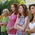 Kathryn Joosten, alias Karen McCluskey, aux côtés des Desperate Housewives.