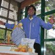 Rafael Nadal mène la mesure lors de son anniversaire le 3 juin 2012 à Roland-Garros