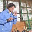 Rafael Nadal souffle ses 26 bougies le 3 juin 2012 à Roland-Garros