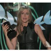 MTV Movie Awards 2012 : Jennifer Aniston ravie d'être élue 'ordure de l'année'