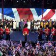 La reine Elizabeth II a pu compter sur le meilleur des artistes du royaume, réunis par le Take That Gary Barlow, pour faire vibrer son jubilé de diamant lors du concert donné à Buckingham Palace le 4 juin 2012.