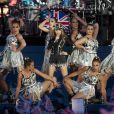 La reine Elizabeth II a été honorée par le meilleur des artistes du royaume, réunis par le Take That Gary Barlow, qui ont fait vibrer son jubilé de diamant lors du concert donné à Buckingham Palace le 4 juin 2012.