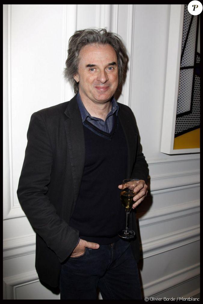 Jean christophe grang lors de la remise du 21 me prix montblanc des arts et de la culture - Jean christophe grange kaiken ...