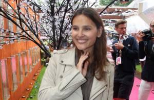 Roland-Garros 2012 : Virginie Ledoyen rayonnante et Taïg Khris amoureux transi