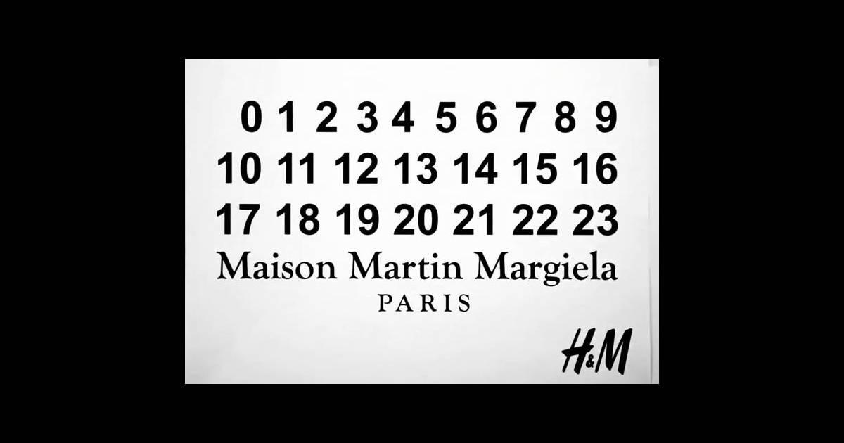 la jeune et c l bre griffe maison martin margiela annonce sa collaboration avec h m. Black Bedroom Furniture Sets. Home Design Ideas