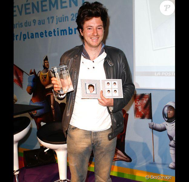 Jean Imbert, gagnant de Top Chef 2012, est sacré aux Trophées Marianne, le mercredi 13 juin 2012 au Parc Floral (Paris).