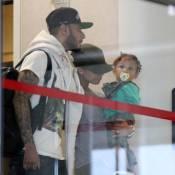 Alicia Keys : Visage fermé, départ en vacances avec son Swizz Beatz et Egypt