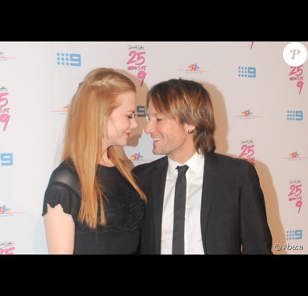 Nicole Kidman et Keith Urban lors du 25e anniversaire de la fondation Richard Wilkins (pour la recherche sur le syndrome de Down) à Sydney le 16 juin 2012