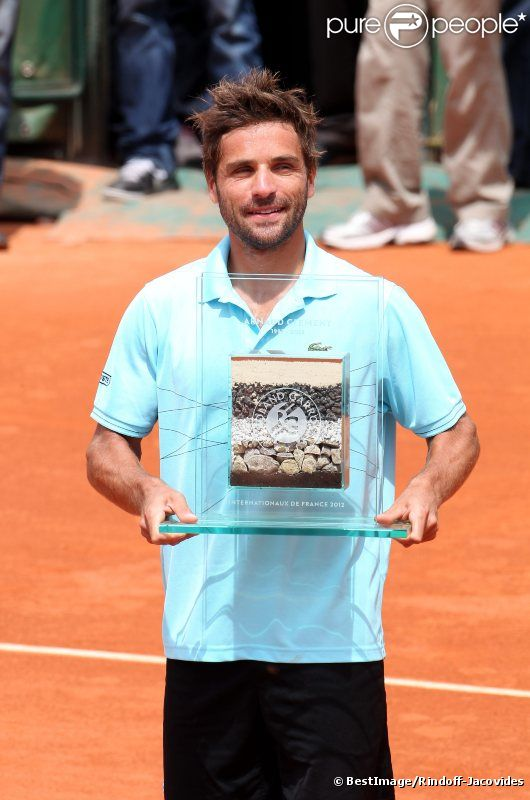 Arnaud Clément le 31 mai 2012 à Roland-Garros lors de son dernier match sur la terre parisienne