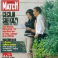 La fameuse couverture de Paris Match représentant Cécilia Sarkozy et Richard Attias, le 25 aout 2005