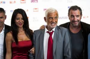 Jean-Paul Belmondo et Jean Dujardin : Belle rencontre et émotion devant Barbara