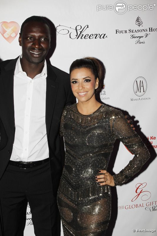 eva longoria quand elle invitait omar sy et sa femme chez elle los angeles purepeople. Black Bedroom Furniture Sets. Home Design Ideas